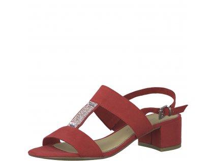 Dámská obuv Marco Tozzi 2-28202/22 červená (Barva červená, Velikost 41)