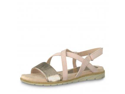 Dámská obuv Tamaris 1-28131/22 (Barva růžová, Velikost 41)