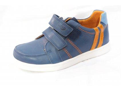 Dětská obuv PP219-DA06-1-654A (Barva Modrá, Velikost 33)