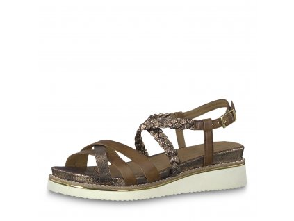 Dámská obuv Tamaris 1-28207/22 (Barva hnědá, Velikost 41)