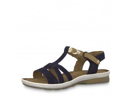 Dámská obuv Tamaris 1-28603/22 (Barva Modrá, Velikost 41)