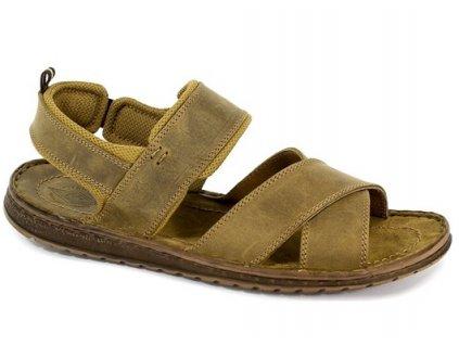 Pánská obuv 852 (Barva hnědá, Velikost 45)