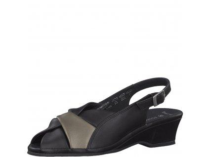 Dámská obuv Marco Tozzi 2-28910/22 (Barva černá, Velikost 42)