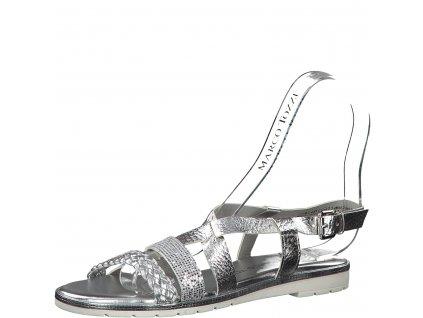 Dámská obuv Marco Tozzi 2-28610/22 (Barva stříbrná, Velikost 42)