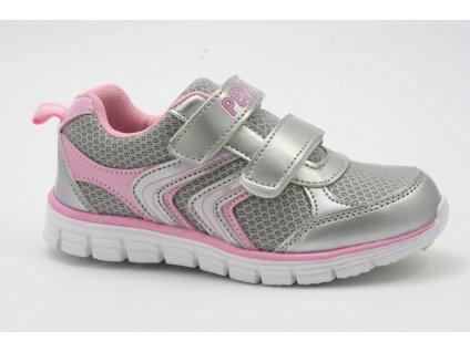 Dětská obuv Peddy SA P26182213 (Barva šedá, Velikost 25)