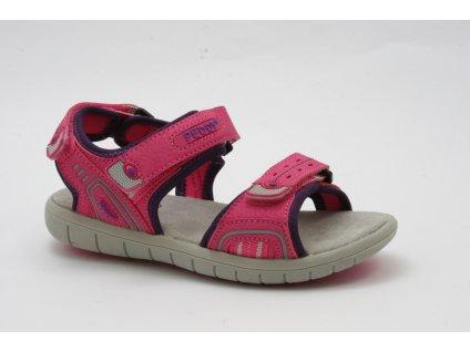 Dětská obuv Peddy AL P25123503 (Barva růžová, Velikost 34)