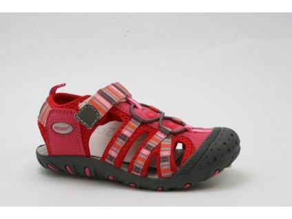 Dětská obuv Peddy AL P25123502 (Barva červená, Velikost 35)