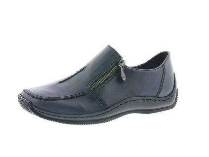 Dámská obuv Rieker L1780-16 (Barva Modrá, Velikost 38)