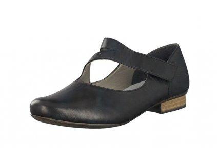 Dámská obuv Rieker 51993-00 (Barva černá, Velikost 41)