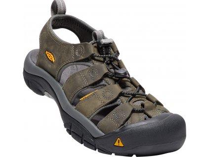Pánská obuv Keen NEWPORT GREY (Barva šedá, Velikost 42)