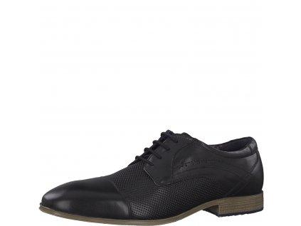 Pánské boty s.Oliver 5-13200/22 (Barva černá, Velikost 45)