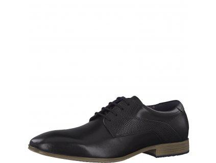 Pánské boty s.Oliver 5-13201/22 AKCE (Barva černá, Velikost 47)