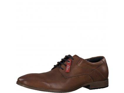 Pánské boty s. Oliver hnědé 5-13201/22 AKCE (Barva hnědá, Velikost 45)