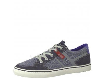 Pánské boty s. Oliver 5-13628/22 (Barva Modrá, Velikost 45)