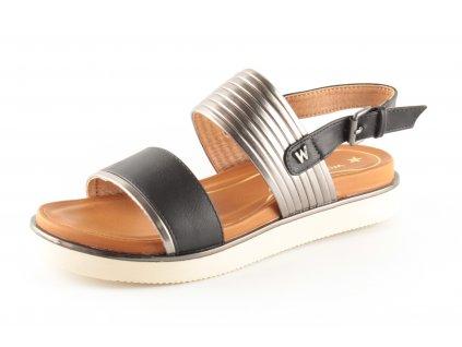 Dámská obuv Wrangler WL91650A (Barva černá, Velikost 41)