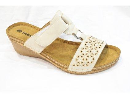 Dámské boty INBLU NA003 (Barva béžová, Velikost 37)