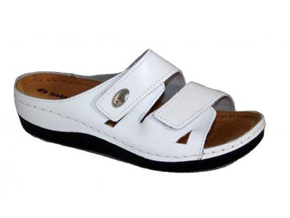 Dámské boty INBLU LF007 bílé (Barva Bílá, Velikost 42)