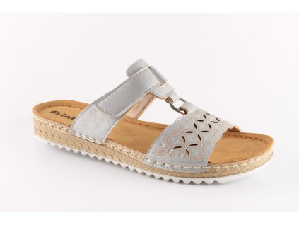 Dámské boty INBLU VO002/11 šedé (Barva šedá, Velikost 40)