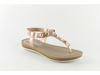 Dámské boty INBLU BA022 béžové (Barva béžová, Velikost 40)