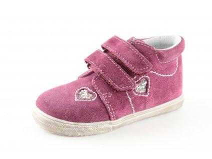 Dětské boty Jonap 022S/1 dívčí růžové (Barva růžová, Velikost 25)