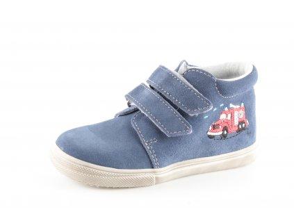 Dětské boty Jonap 022S/1 chlapecké modré (Barva Modrá, Velikost 25)