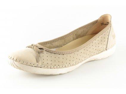 Dámské boty Weinbrenner W1902.01 (Barva béžová, Velikost 40)