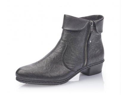 Dámská obuv Rieker Y07A8-01 (Barva černá, Velikost 42)