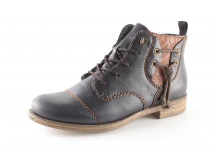 Dámská obuv Rieker 77441-14 (Barva Modrá, Velikost 40)