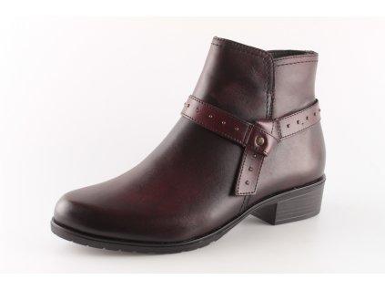 Dámská obuv Rieker D6878-35 (Barva červená, Velikost 43)