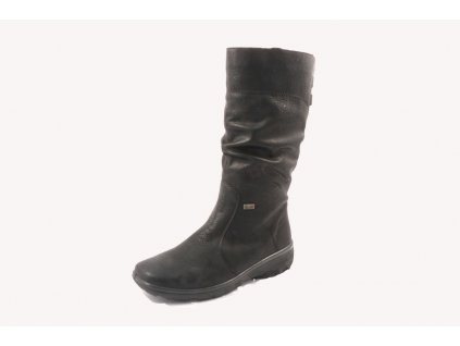 Dámské kozačky Rieker Z7073-00 (Barva černá, Velikost 39)