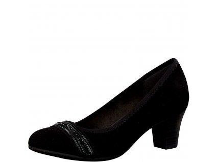 Dámská obuv Jana - 8-22474/23 (Barva černá, Velikost 41)