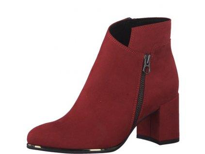Dámská obuv Marco Tozzi 2-25015/23 (Barva červená, Velikost 41)