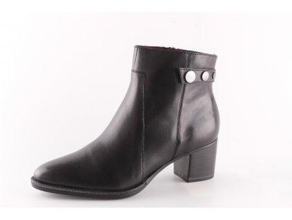Dámské boty Tamaris 1-25342/23 černé (Barva černá, Velikost 41)