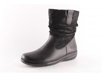 Dámské boty Rieker X0681-00 (Barva černá, Velikost 42)