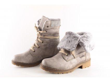 Dámské boty Rieker Y9122-42 (Barva šedá, Velikost 40)
