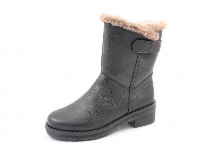 Dámské boty Rieker X0582-00 (Barva černá, Velikost 42)