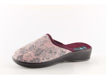 Dámské pantofle Adanex 23593 (Barva růžová, Velikost 41)