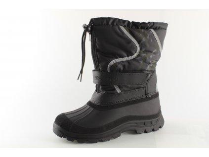 Dětské boty Obutex DZ BR92725-3 (Barva černá, Velikost 41)