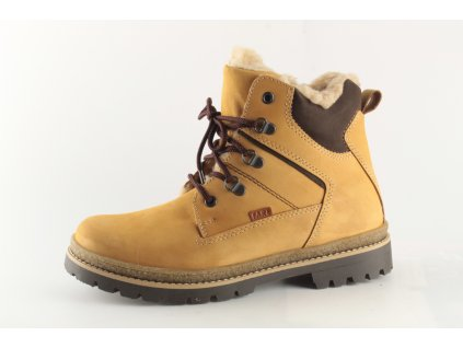Dámské boty FARE DZ 2641281 (Barva žlutá, Velikost 40)
