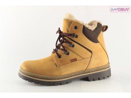 Dětské boty FARE DZ 2641281 vel. 36-40 KOŽENÉ