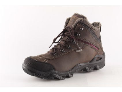 Dámské boty Obutex - IMAC DZ I2424Z49 kožené (Barva hnědá, Velikost 42)