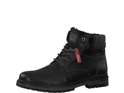 Pánské boty s.Oliver 5-16208/23 (Barva černá, Velikost 46)