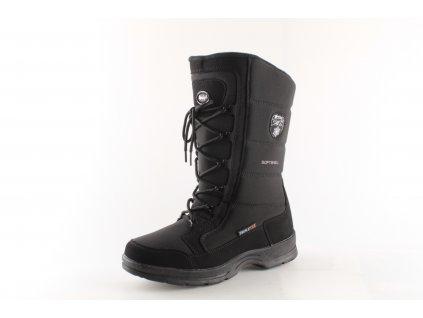 Dámská obuv zimní DZ 811/19 (Barva černá, Velikost 40)