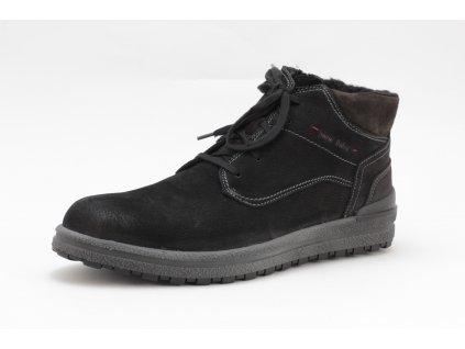 Pánské boty Josef Seibel 15525 kožené (Barva černá, Velikost 46)
