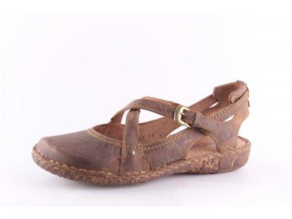 Dámské boty vycházkové kožené Josef Seibel 79513 (Barva hnědá, Velikost 41)