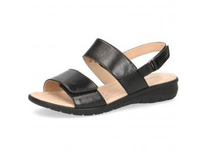 Dámské sandály Caprice DL 9-28602-24 (Barva černá, Velikost 42)