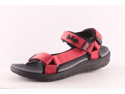 Dámské boty Lee Cooper DL LCWL-34-014 červené (Barva červená, Velikost 41)
