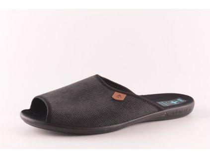 Pánské pantofle Adanex PD 23915 (Barva šedá, Velikost 44)
