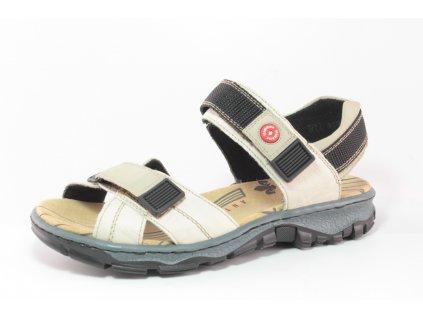 Dámská obuv letní Rieker DL 68851-60 béžová (Barva béžová, Velikost 42)