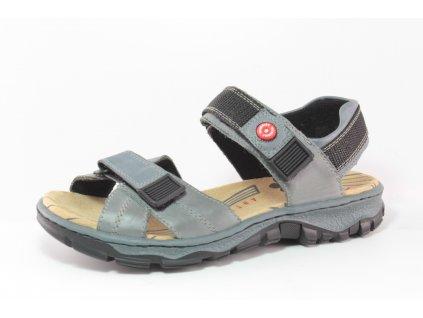 Dámská obuv letní Rieker DL 68851-12 šedá (Barva šedá, Velikost 42)